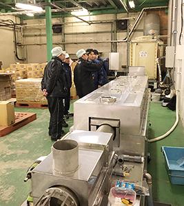 大潟村あきたこまち生産者協会に設置された低酸素還元焙煎ライン