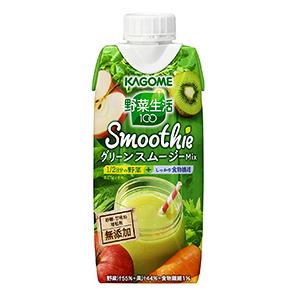 小腹満たしという、新たな飲用シーンを提案する「野菜生活100スムージー」