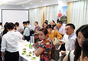 在上海総領事館で開催した日本食イベント