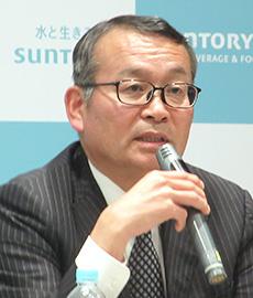 沖崎行男専務取締役