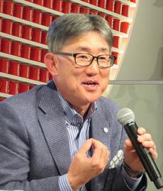 高岡浩三社長兼CEO