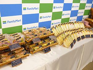 ファミリーマートはバゲットサンド、サンドイッチの食材を生かした品質の高さで勝負