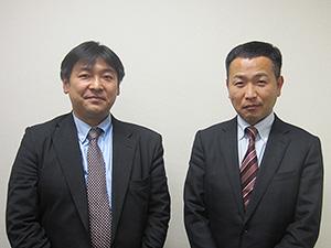 大島隆司氏(左)と金田陽平氏
