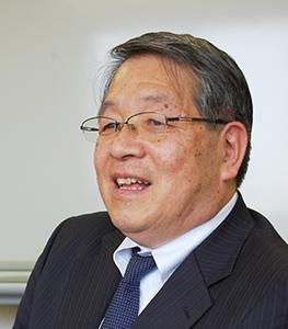 神尾啓治代表取締役社長