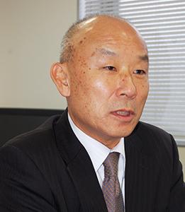 竹田昭男代表取締役社長