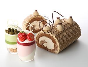 新商品「マリアネージュ」はホワイトチョコレートを配合(活用例)