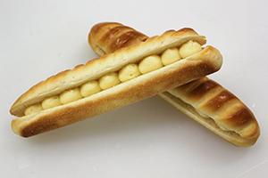 ベーカリー向けバタークリームのオススメメニュー「ミルクサンド」