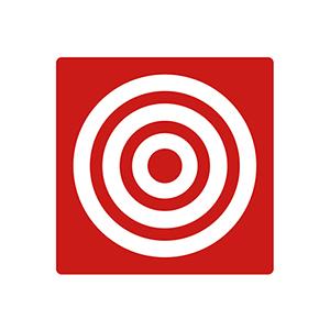 「食の3重丸」のシンボルマーク