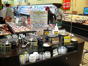 1月にリニューアルオープンした新松戸店。惣菜コーナーが充実、昼食時には近辺の学生も利用する