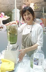 アボカド料理研究家の緑川鮎香氏