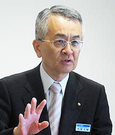 同事業を率いた中尾大輔宝酒造副社長
