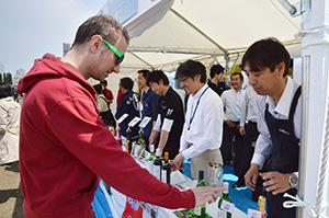 「日本ワインMATSURI祭」では、全国各地のワイナリーが日本ワインの魅力を訴えた