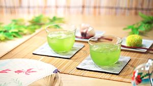 「氷水出し」など、新たなお茶の楽しみ方提案で、リーフ需要の下支えなど、さらなる活性化に注力(イメージ)=写真提供・伊藤園