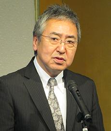 賦課金問題を解消した経緯を話す野呂剛弘会長