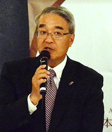 萩原孝治郎代表理事会長