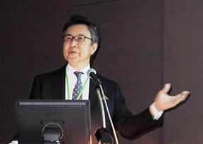 研究成果を発表する斎藤一郎鶴見大学歯学部教授
