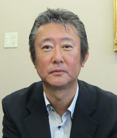 「起業家精神は持っていたい」と話す新川幸也社長