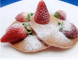 新商品「イチゴホットケーキ」