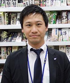 乾物乾麺MD部 販売促進課 加納祐太氏