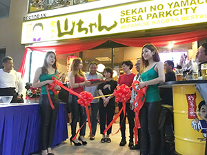 GFキャピタル(タイランド)がマレーシアで成功させた飲食店の出店事例=GFキャピタル提供