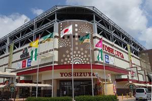 外観デザインは尾張津島天王祭の「まきわら船」をイメージ
