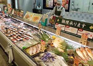 ビバシティ平和堂の鮮魚売場は顧客の支持が最も大きい