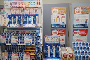 店頭での販促ツールで売場の活性化を狙う