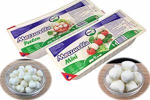 今期一押しのスイス産「ツガーIQFモッツァレラ」でサラダ用途など幅広く提案