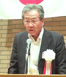 白石俊彦理事長(イセヤ社長)