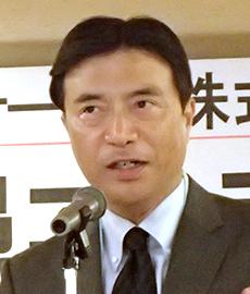 東川浩之代表取締役社長