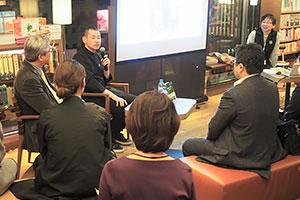コイやエイなど魚料理への傾倒を語る浜田統之氏(2月23日)
