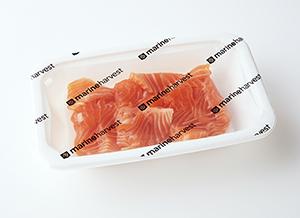 今後業界内への浸透が見込まれるMAP包装による生鮮サーモン