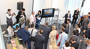 在スイス日本国大使館における日本企業との共催による食品加工機械紹介イベント