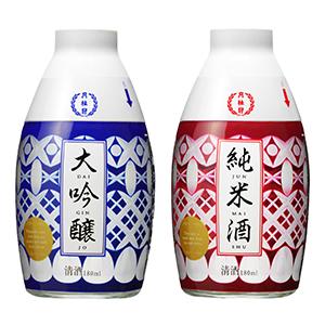 「おちょこ付大吟醸」(左)と「おちょこ付純米」