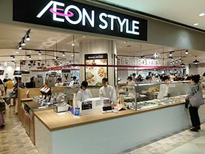 「イオンスタイル新浦安MONA」は「イオン新浦安」のサテライト店舗という位置付け