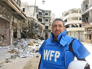 モハマド・バッカル所長 (C)WFP