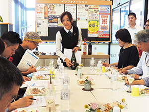 早崎奈枝氏によるワイン勉強会