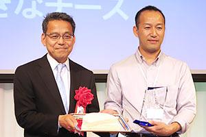 前回の表彰式(農林水産大臣賞はエイチ・アイ・エフの「大きなチーズ」が受賞)