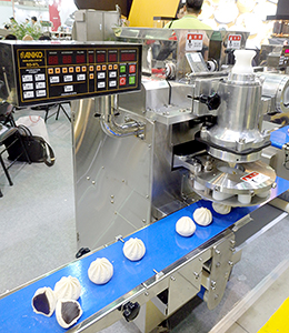 109ヵ国との取引があるため、いろいろなメニューに対応する(安口食品機械)