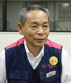 取締役食品事業本部本部長 小林一生氏