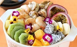 フルーツ&シーフードのココナッツカレー鍋