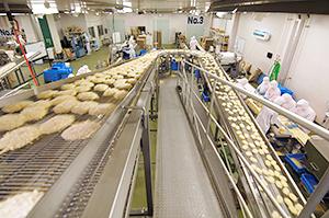 2017年は期待が高まる北海道冷凍食品業界(地場メーカーの製造ライン)