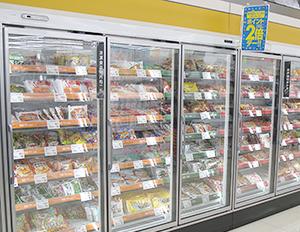 ドラッグストアの冷凍食品は充実してきた
