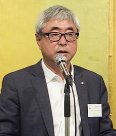 田中徳兵衛会長