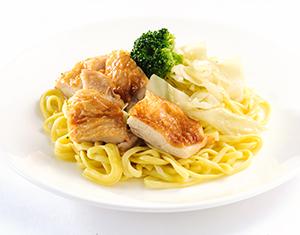 低糖質生パスタ(ペペロンチーノ)