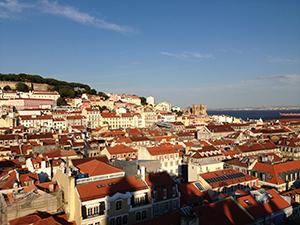 首都のリスボン