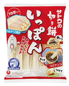 佐藤食品工業の「いっぽん」は具材で巻いて片手で食べるを提案
