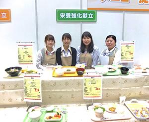 社員の管理栄養士4人が朝・昼・夜とテーマごとに各5メニューを提案