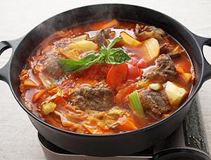 牛スジのトマトチゲ鍋