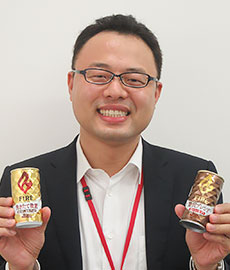 平野真太郎マーケティング本部マーケティング部商品担当部長代理